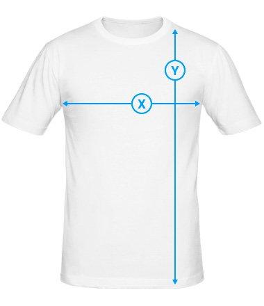 Размеры мужской футболки